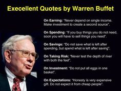 Warren Buffett is a well known American business magnate. Read Warren Buffett Quotes and a short video discussing aspects of how to be successful in life. Wise Quotes, Famous Quotes, Success Quotes, Great Quotes, Motivational Quotes, Inspirational Quotes, Awesome Quotes, Career Quotes, Random Quotes