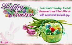 Poetry happy easter greeting ecard pictures with wishes sms happy easter holiday wishes and greetings sms wallpaper m4hsunfo
