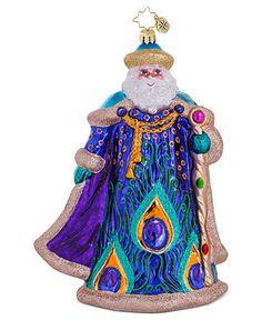 Christopher Radko Christmas Ornament, Papa Plumage - Holiday Lane - Macy's