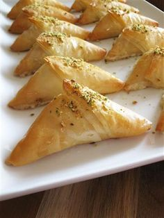 Arabic Cream-Filled Pastries (Warbat bil Ashta) These are my favourite desserts from Kuwait!