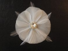 Make your own delicate feather fascinator on the cheap | Offbeat Bride
