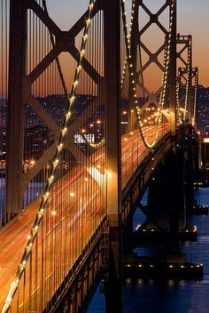 San Francisco #travel #bridges #California how can you not leave your heart here, tony Bennett was right.