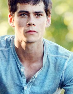 Dylan O'Brien in The Maze Runner LYDIA WE ARE GOING TO WATCH THIS!