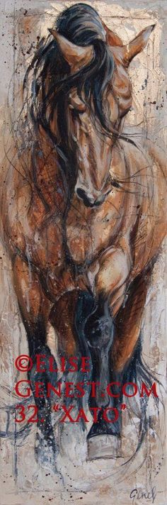Amazing painting of a horse