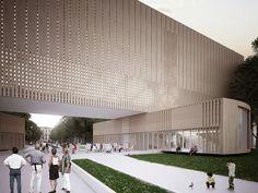 Galeria de Penda propõe um novo Museu Bauhaus mutável - 2