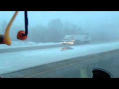 [NSFW -Language] The winter storm that hit a majority of the US this past weekend led to many accidents like these in Bountiful, Utah. Icy roads mixed with perhaps a little alcohol lead this crazy driver driving in the median of Interstate 81 in northeast United States. Luckily the vehicle stayed in the median and did not end up hitting oncoming traffic.