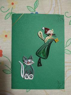 Trabalhos em quilling by martinaquill, via Flickr