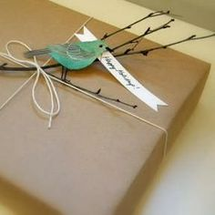 Willow Bee Inspired: Gift Giving No. 7 - Gift Wrap Ideas for Love, Springtime, and Celebration