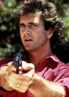 "sala66:  Mel Gibson en ""Arma Letal"", 1987"