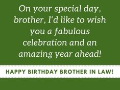 Birthday Wish Images For Brother In Law Birthday Brother In Law, Brother Birthday Quotes, Brother Quotes, Happy Birthday Quotes, Husband Quotes, Birthday Wishes, Wishes Images, First Love, How Are You Feeling