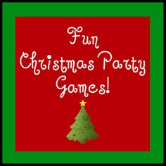 Fun Christmas party games. Everyone loves to laugh!