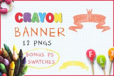 Download Crayon Banner  @creativework247