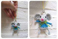 Amigurumi Little Mouse - Tutorial.