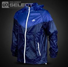 Nike Summerized Windrunner - Mens Clothing - Midnight Navy-Varsity Royal