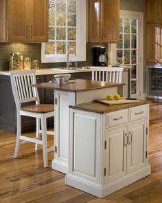 Home Styles Woodbridge Kitchen Island Set Reviews Wayfair