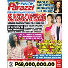 Pinoy Parazzi Vol 7 Issue 137 November 07 – 09, 2014 http://www.pinoyparazzi.com/pinoy-parazzi-vol-7-issue-137-november-07-09-2014/