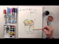 Happy Painting - A Mini Course with #JulietteCrane ~ Video sneak peek on #YouTube