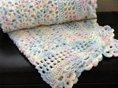 Hey, I found this really awesome Etsy listing at http://www.etsy.com/listing/93027990/crochet-baby-blanket-fan-shell-lace