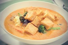 Tofu and Chickpea Curry with Green Peas | Soup | Pinterest | Chickpea ...