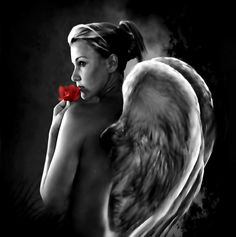 Angel Love by Ponthieu.deviantart.com on @deviantART