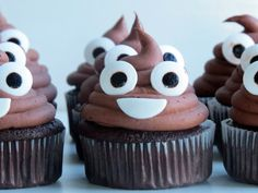 Because the poop emoji is the best emoji. And probably the easiest emoji to make into a baked good. Seriously, you can so do this. I used a modified version from the Brown Eyed Baker that you can f…