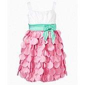 Ruby Rox Girls Dress, Girls Tiered Petal Dress