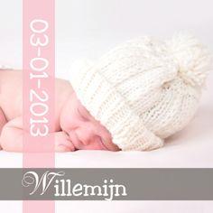 Geboortekaartjes - Geboortekaartje eigen Foto Meisje 2