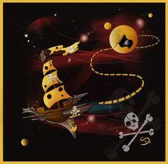 Moon Adventure- Araniel by #childrensillustrator