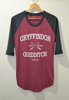 Hey, I found this really awesome Etsy listing at https://www.etsy.com/listing/204957328/gryffindor-quidditch-shirt-harry-potter