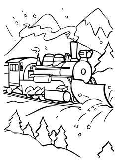 subjects the polar express coloring pages az coloring pages - Polar Express Train Coloring Page