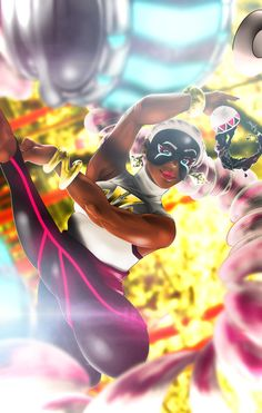 ARMS - Twintelle by AW08