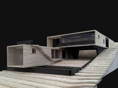 Gallery of La Gloria House / Duque Motta & AA - 12 Residencial Architecture Model Making, Chinese Architecture, Modern Architecture House, Concept Architecture, Residential Architecture, Architecture Design, Architecture Diagrams, Architecture Portfolio, Retreat House
