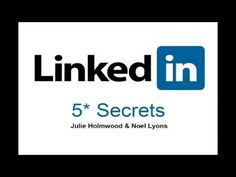 LinkedIn Training For Business Owners Marketing Their Services (video)