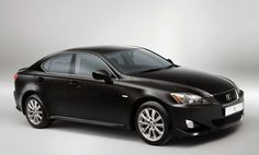 Lexus IS 250 in black.