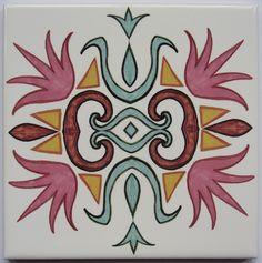Flamingo Tile from Jacqueline Talbot Designs