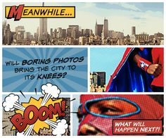 Add comic book photo effects to your images to make them all KA-POW! With comic bubbles, hero shields, and logos, Comic Heroes is your faithful sidekick. Drawn Mask, Comic Bubble, Online Photo Editing, Marvel Vs, Geek Out, Photo Effects, Teaching Kids, Book Design, Art Lessons
