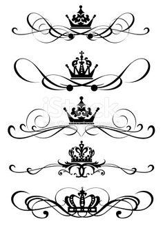 design element. vintage ornaments. vector