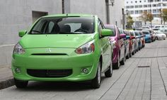 """2014 Mitsubishi Mirage Colors Line Up 