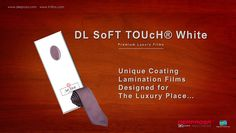 DL SoFT TOUcH® now with optimum whiteness for premium luxury packaging.     Designed for the hottest fashion luxury brands!     www.derprosa.com  #premium #luxurybrands #fashion #designers #UniqueCoating #LaminationFilms #packaging #giftboxes #packagingbox  #graphicarts #minimalism