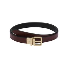 Mulberry - Reversible Belt in Oxblood & Black Natural Leather