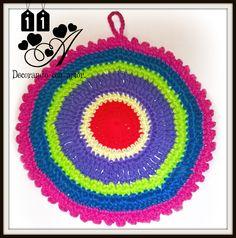 Agarradera elaborada al crochet by 11A