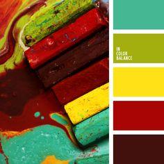 Color Palette No. 2105
