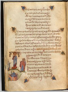 Christ: teaching | Lectionary | Turkey, Istanbul | mid 12th century | The Morgan Library & Museum