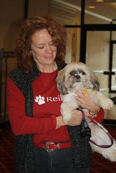 """Kathy Davis-Tower with """"Max"""" at The Conference on Complementary Animal Healing. Acupressure, Acupuncture, Craniosacral Therapy, Conference, Tower, Healing, People, Animals, Animales"""