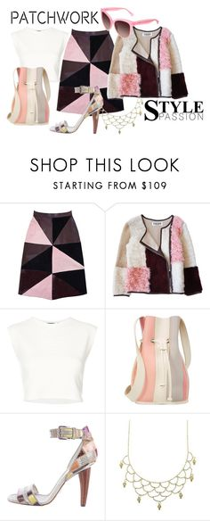 """""""Patchwork Fashion"""" by moonstar843 ❤ liked on Polyvore featuring Florence Bridge, Puma, 10 Crosby Derek Lam, Dolce&Gabbana and sass & bide"""