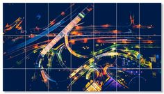 """"""" Night Roads """" FREE POSTER 133cm x 74cm ( PRINT YOURSELF )Easily prints on your home printer using 21 sheets of A4 paper. Click on the title or the image for the download page Original Photography by Martin Ezequiel Sanchez. Click the title or image..."""