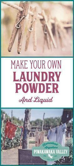 Homemade Laundry Detergent Recipes Waste Free Eco Living
