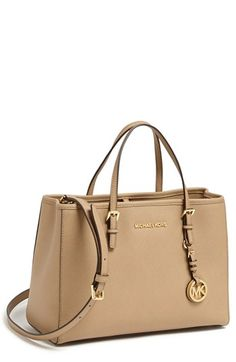 MICHAEL Michael Kors 'Jet Set – East/West' Saffiano Leather Tote