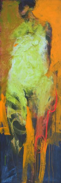Catherine Woskow - vertical nude painting 01