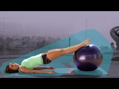this workout is awesome!     Grab your fitness ball and get ready to work your booty! Cassey Ho's Bombastic Booty Workout on the Ball will tone and lift your glutes for amazing results. This super fun and challenging butt routine is sure to be one of your favorites! Click on the links below to f...